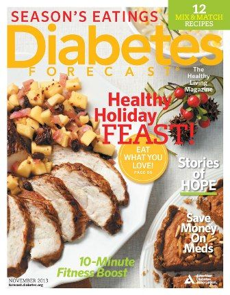 The November Issue Of Diabetes Forecast The Healthy Living