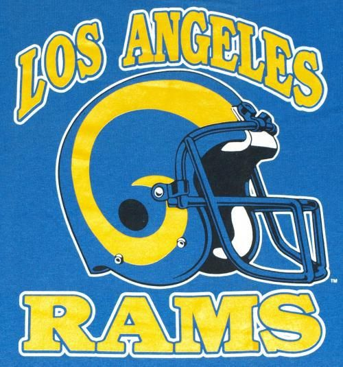 Los Angeles Rams Newest Addition To The City Of Angels Rams Football Los Angeles Rams Logo Los Angeles Rams