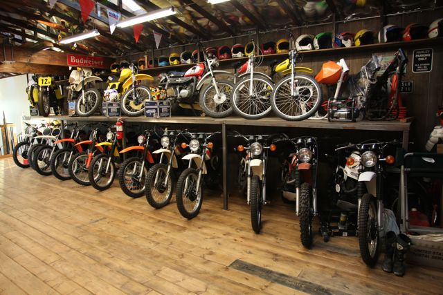 Find this Pin and more on shop ideas. Above the floor motorcycle storage  General Garage Discussion - Above The Floor Motorcycle Storage - Great For Places That Get
