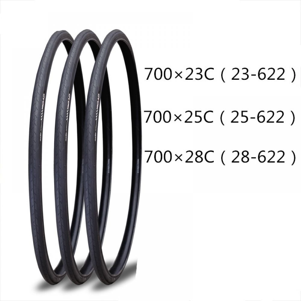 1pcs Bicycle Tyre 700 23c 25c 28c Road Bike 700x23c 23 622