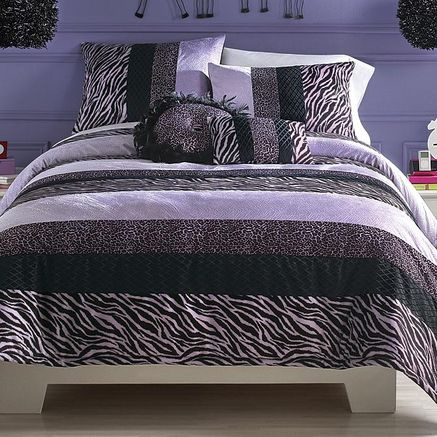 My stuff®\/MD Zebra Darling Comforter Set- Sears ZEBRA STUFF - schlafzimmer zebra