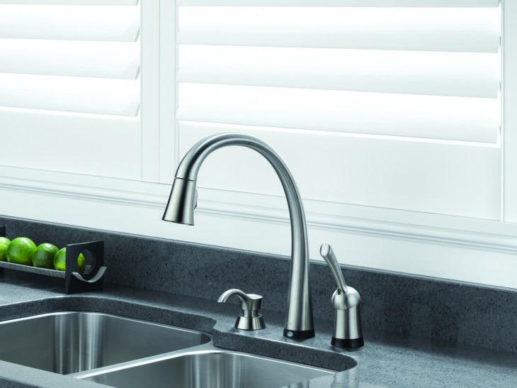 Delta Brand Pilar Kitchen Faucet - pictures, photos, images | Best ...