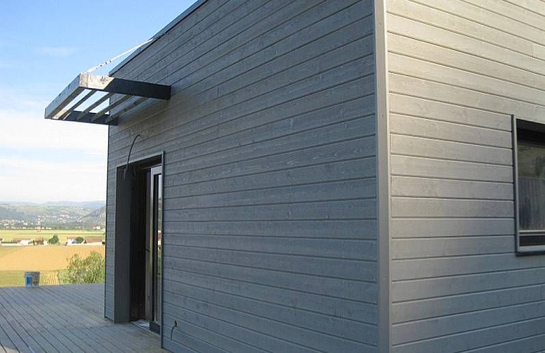 bardage bois - Recherche Google Fassade Pinterest Searching - maison bardage bois couleur