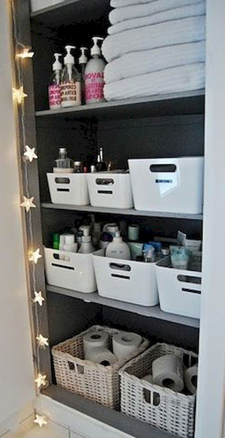 42 Bathroom Storage Hacks That Will Help You Get Ready So Much Faster