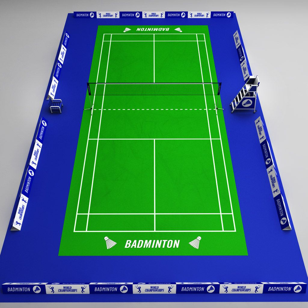 Badminton court arena Badminton, court, arena