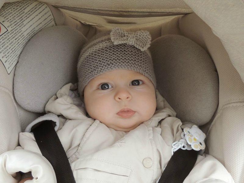 tricoter un bonnet nouveau ne bebe