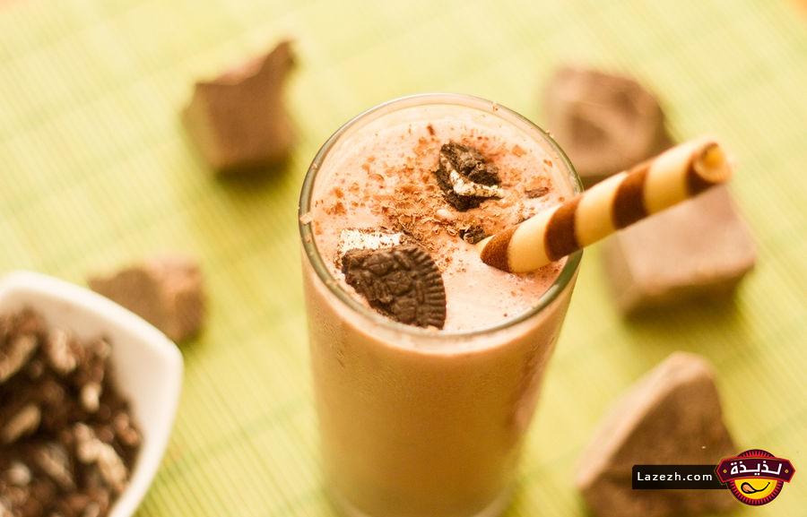 ميلك شيك ايس كريم الشوكولاتة وصفات رمضان 2016 Chocolate Milkshake Chocolate Banana Milkshake