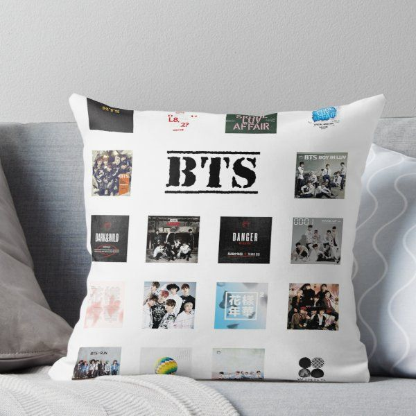 Best Bts Albums Throw Pillow Bedroom Themes Bts Wallpaper Bts 400 x 300