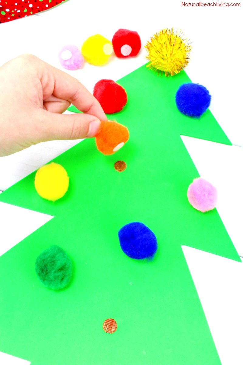 Easy Christmas Color Matching Activities for Preschoolers & Toddlers ...