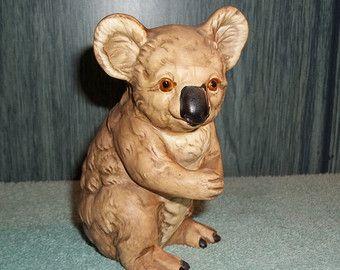 Vintage Koala Bear Figurine, UCTCI Made in Japan,