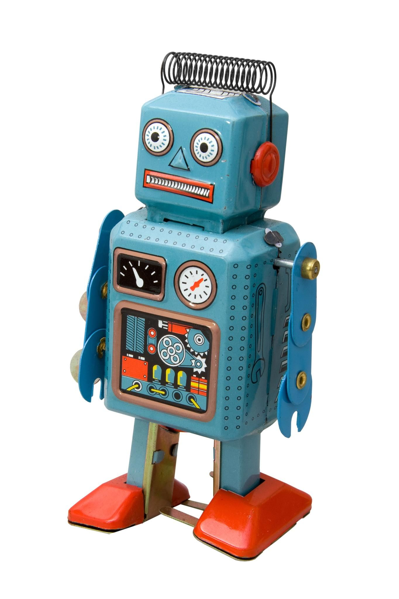 Old fashioned robot toys 5