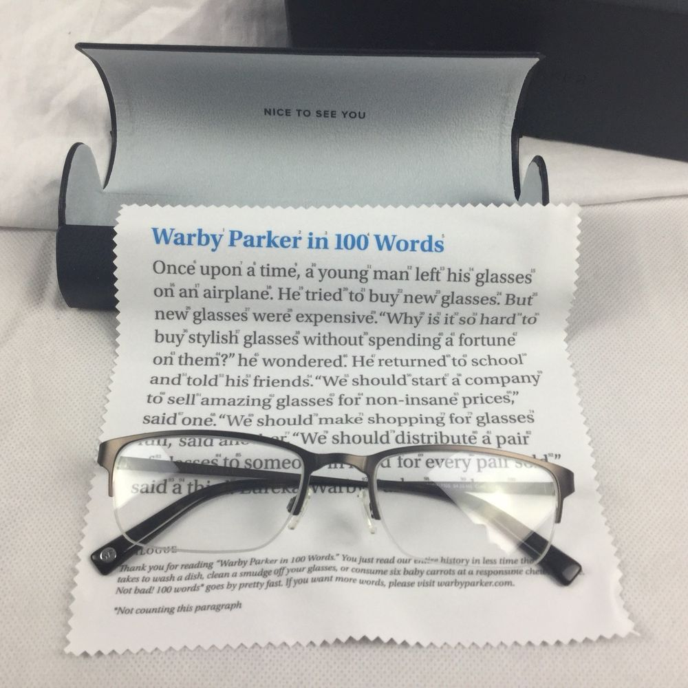 02620f8c82f0 Details about Warby Parker Prescription Eye Glasses Spectacles Mens ...