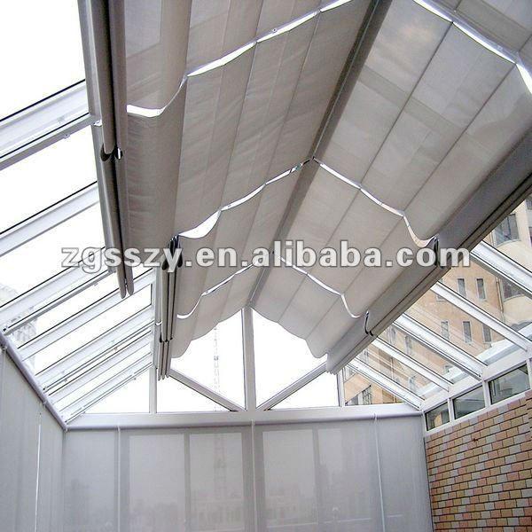 Cortina de la ventana/techo tragaluz/outdoor roller cortinas ...