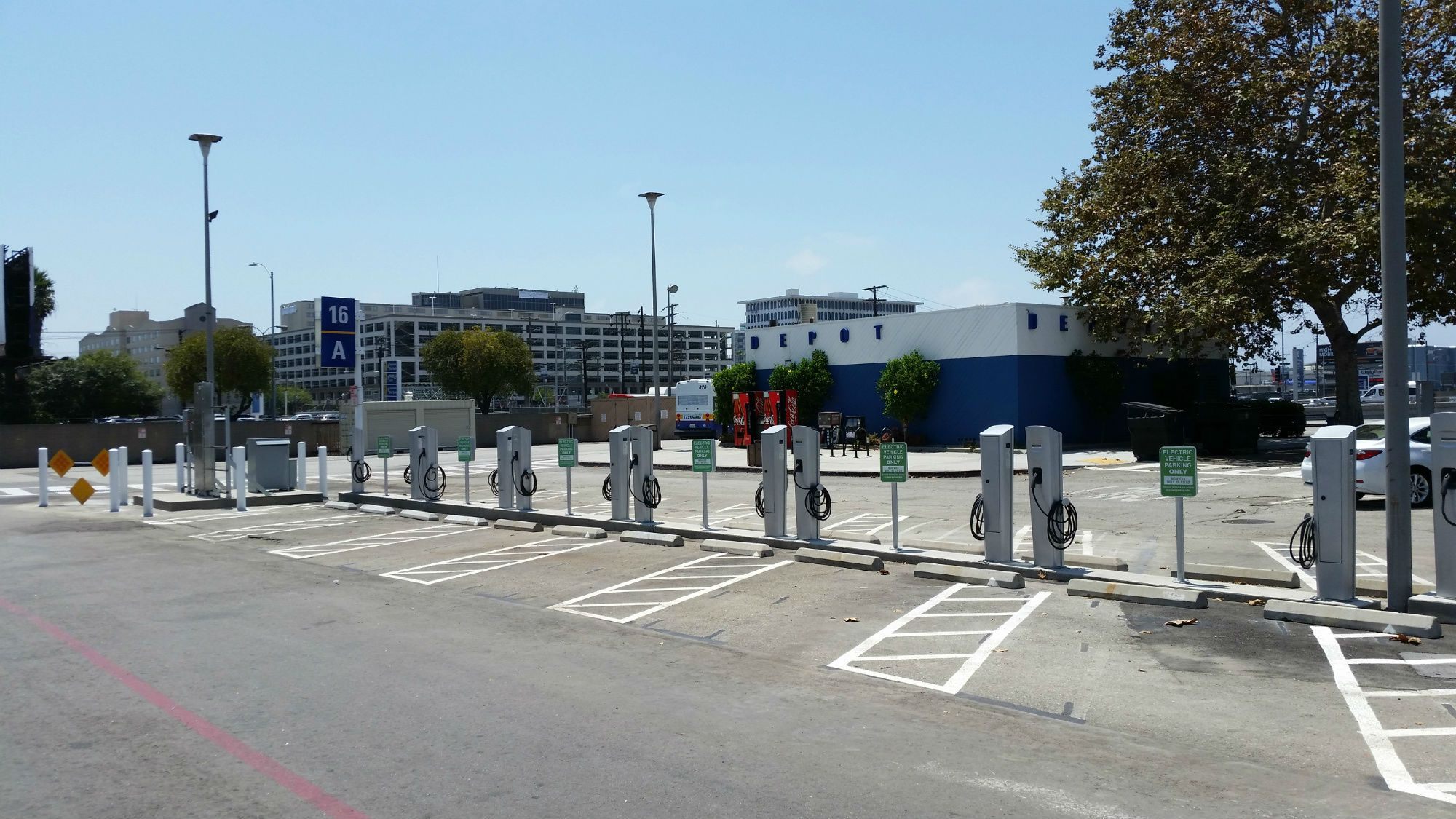 Ev Users Are Subject To Posted Parking Rates For Lax Lot C More