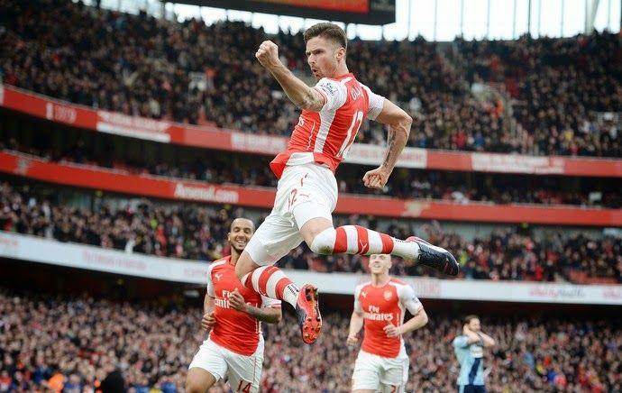 Blog Esportivo do Suíço: Arsenal vence com golaços e encosta nos líderes