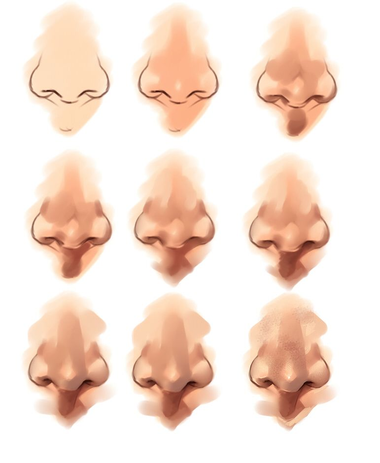 Nose tutorial by rykyiantart on deviantart art dolls how to draw noses ccuart Image collections
