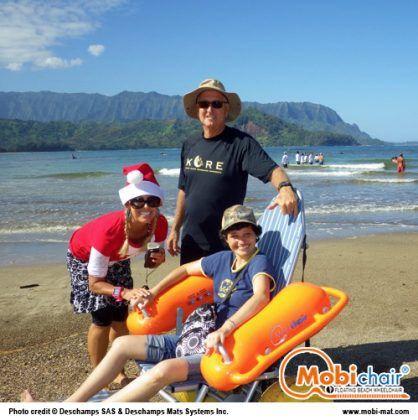 Mobi Chair Floating Beach Wheelchair Wheelchair Floating Seamless Transition