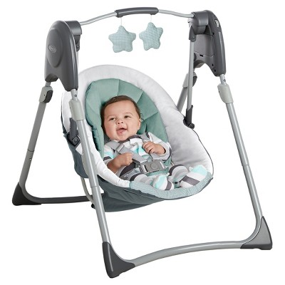 Graco Slim Spaces Compact Baby Swing Lionel Baby Swings