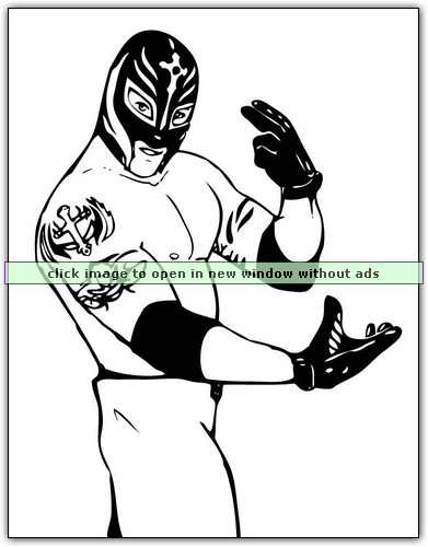 WWE coloring pages http://coloringbookfun.com/Wrestling%20WWE/ | For ...