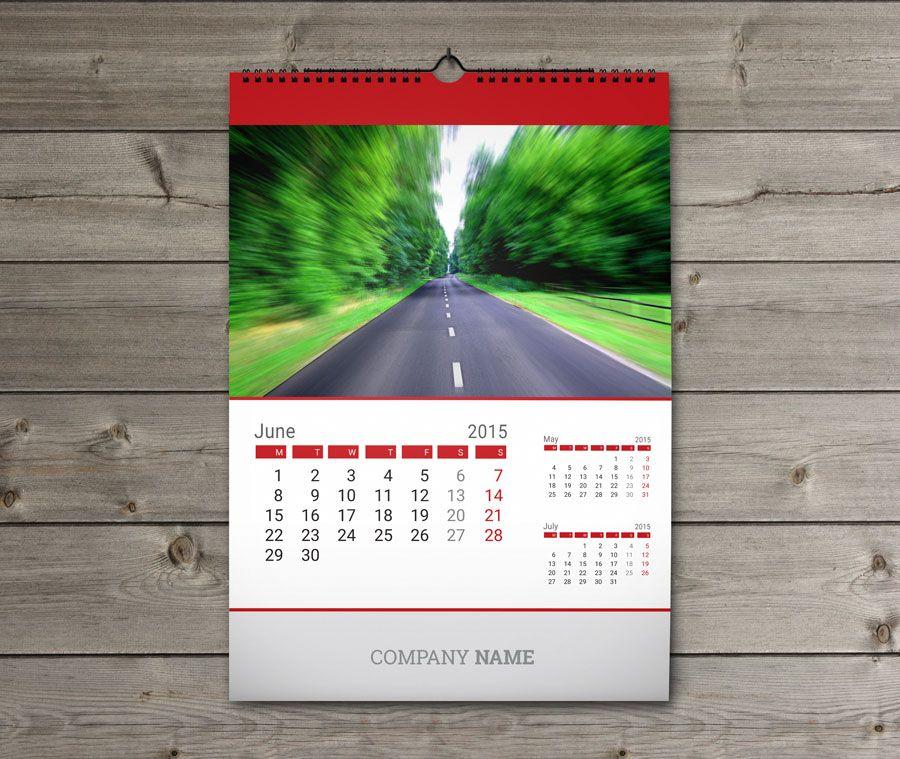 Wall Calendars 2015