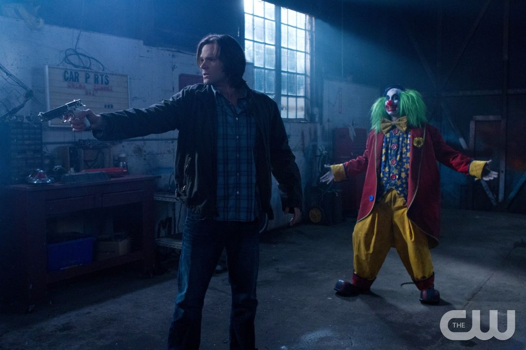 """""""Plucky Pennywhistle's Magical Menagerie"""" - Jared Padalecki as Sam in SUPERNATURAL on The CW. Photo: Jack Rowand/The CW©2011 The CW Network, LLC. All Rights Reserved."""
