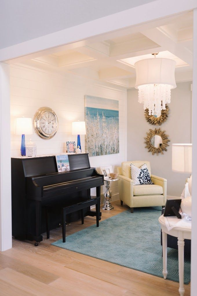 Four Chairs Furniture | Turquoise, House and Pianos