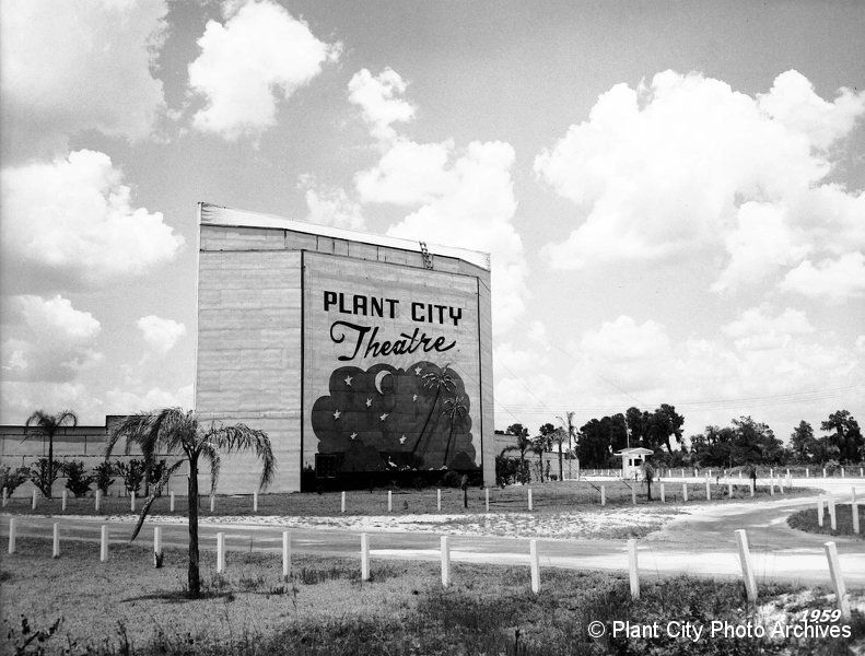 10936 Plant City Drive In 05 1955 Plant City Photo Archives Photo Gallery Plant City Florida Old Florida City Photo