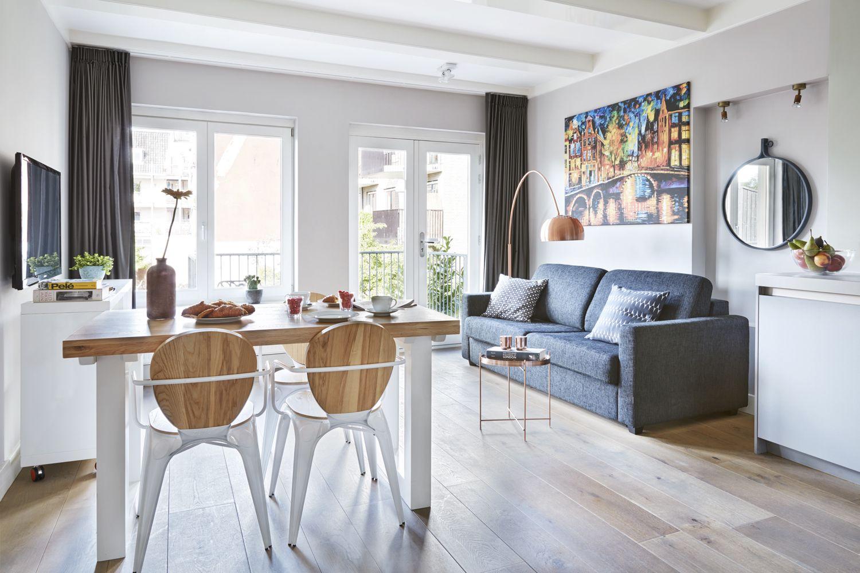 Typical Dutch interior design, Junior 1 BR Apartment in Amsterdam ...