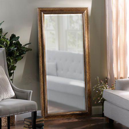 Antique Gold Full Length Mirror 32x66 In Full Length Floor