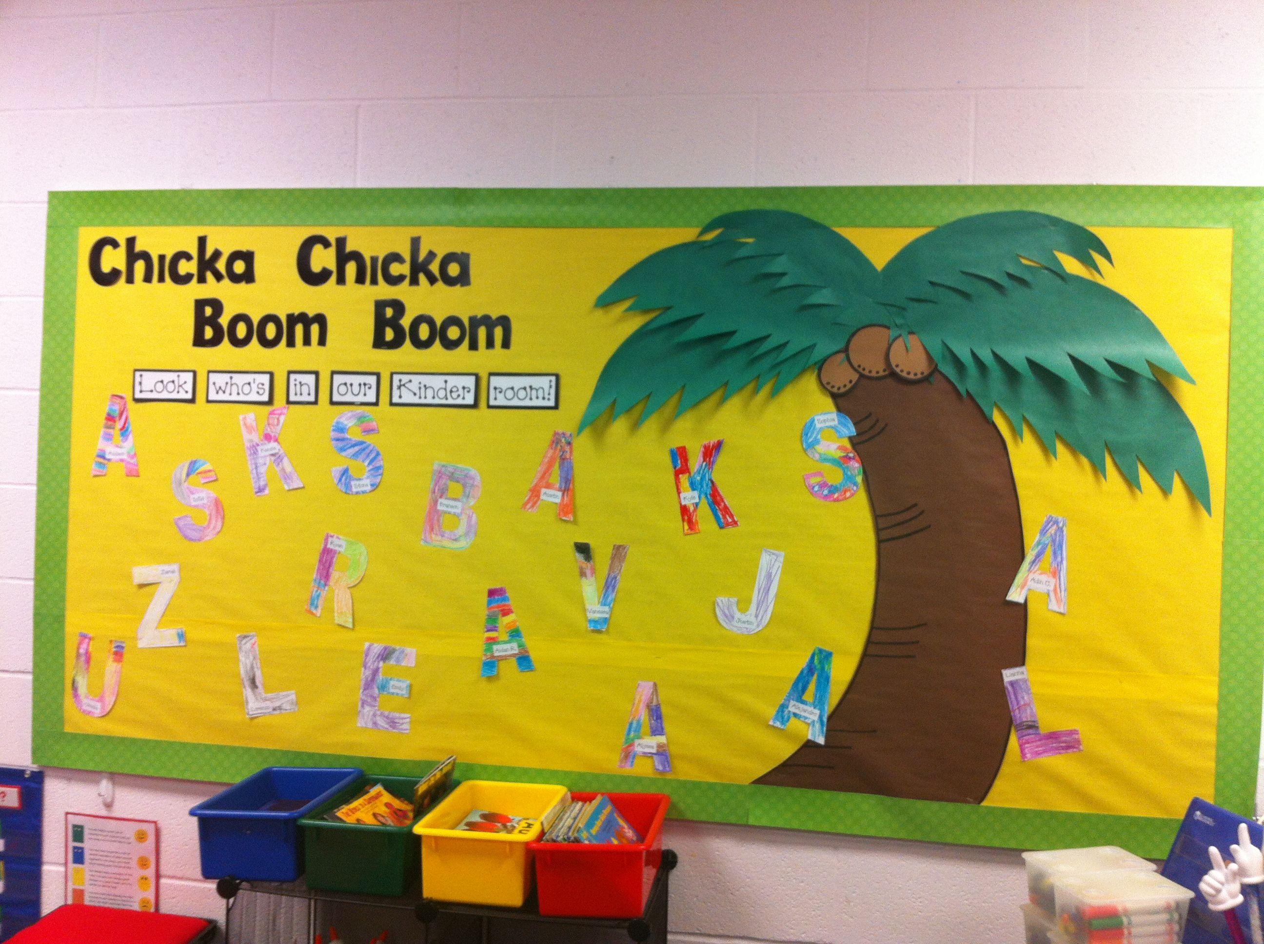 Easy Beginning Of The Year Bulletin Board Read Chicka