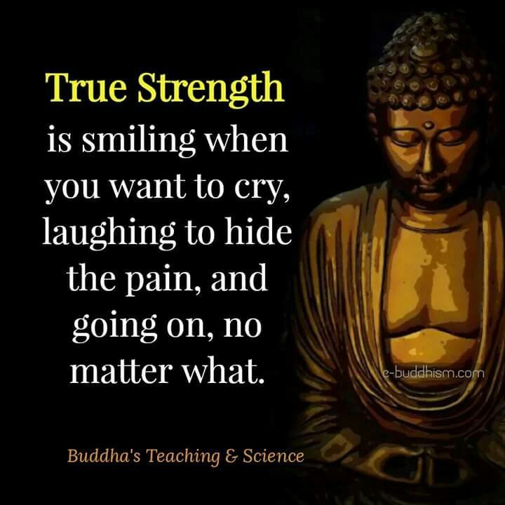Smile When You Want To Cry Laugh To Hide The Pain Keep: True Strength Is Smiling When You Want To Cry, Laughing To