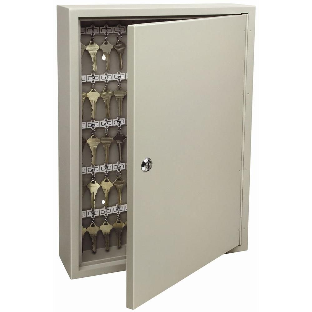 120-Key Cabinet Pro, Clay | Key cabinet, Key storage ...