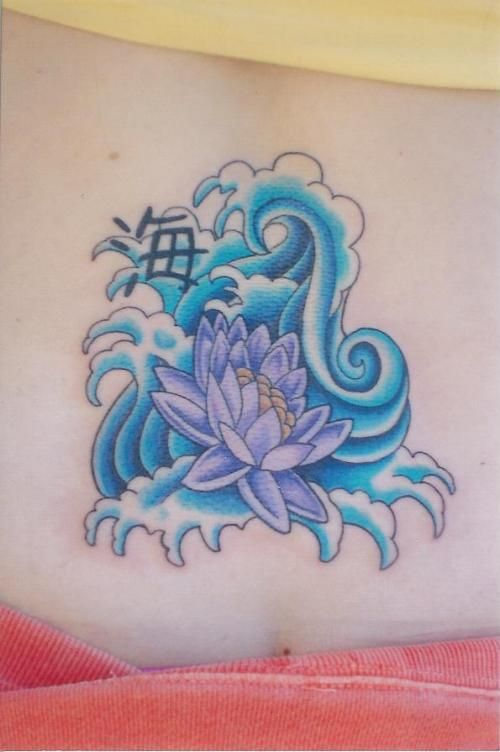 Japanese Water Lily Tattoo Design Tattoobitecom Tattoo Lily