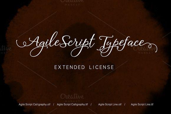 Agile Script Extended License  @creativework247