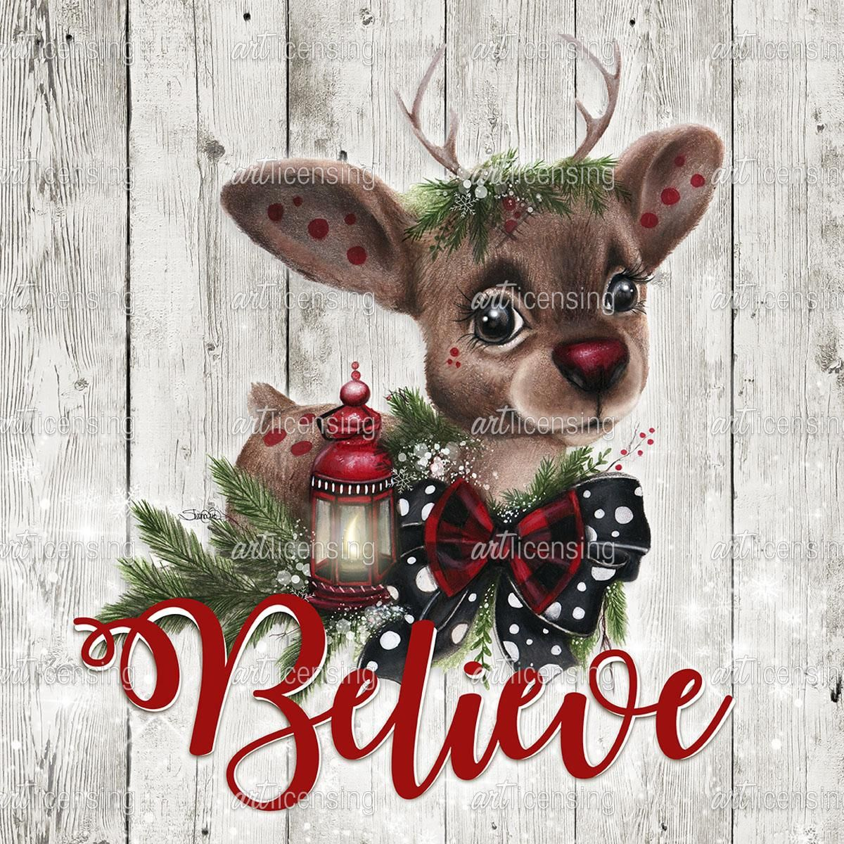 Rudolph Wood Background Art LicensingArt Licensing