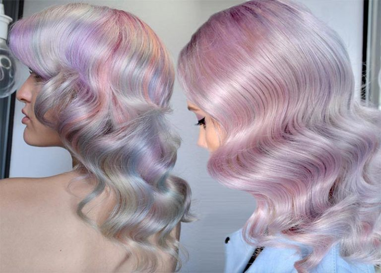 Mother-of-Pearl Hair Trend: 53 Iridescent Pearl Hair Colors to Dye for