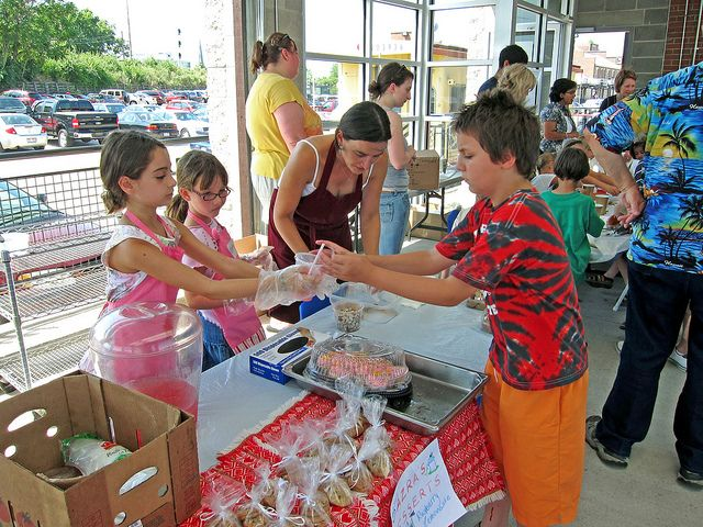 Kids Day at the PNC 2nd Street Market Dayton ohio