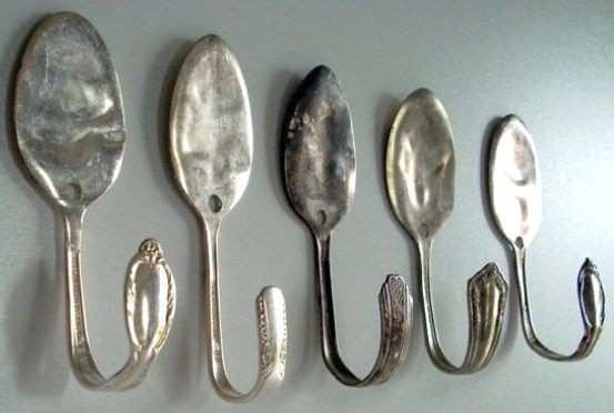comment recycler de vieilles cuill res silver plated flatware pinterest deco bricolage et. Black Bedroom Furniture Sets. Home Design Ideas