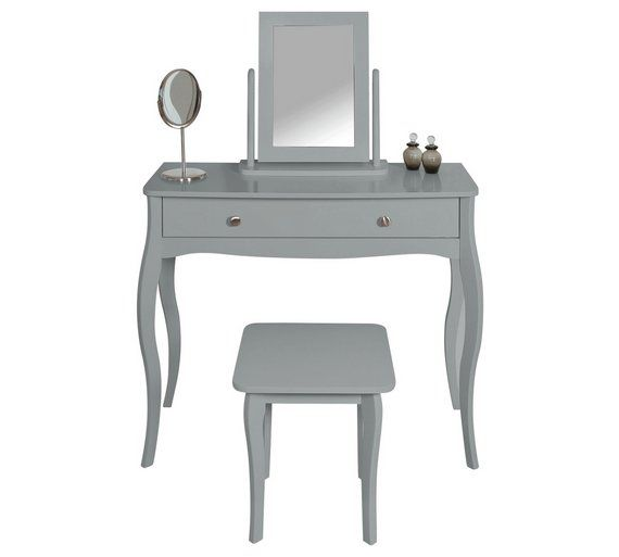 Buy Argos Home Amelie Dressing Table, Mirror And Stool