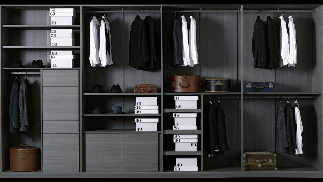 Moduli A Giorno Storage Closet, Design By Piero Lissoni For Porro., Made In