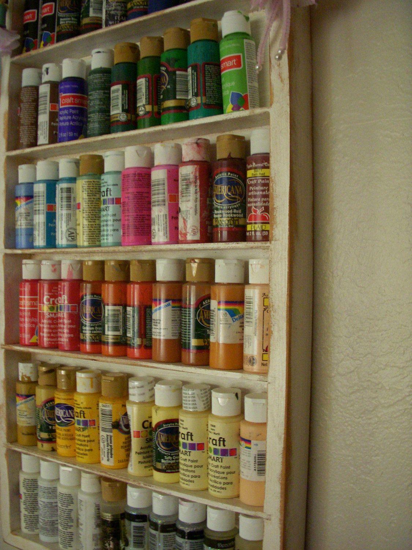 28+ Craft paint storage shelf ideas in 2021