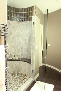 curved wall bathroom design ideas, pictures, remodel and