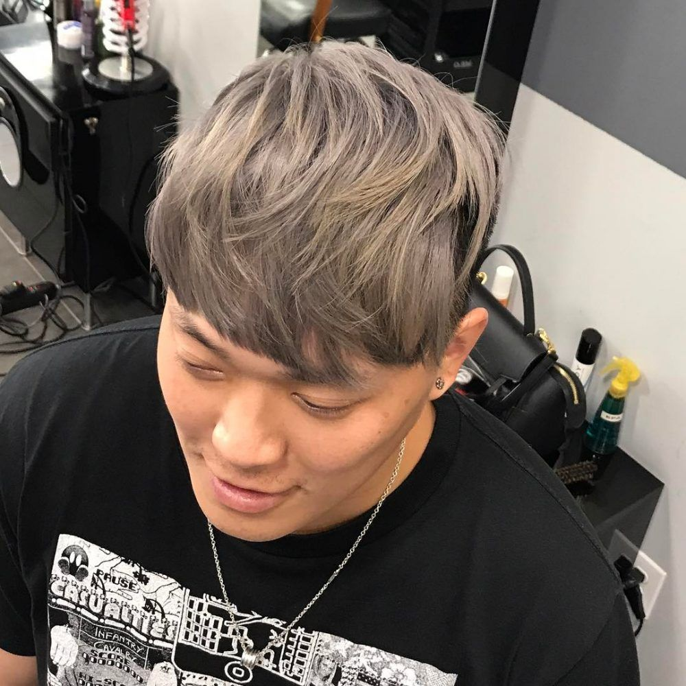 29 Coolest Men S Hair Color Ideas In 2020 Ash Gray Hair Color Ash Grey Hair Men Hair Color