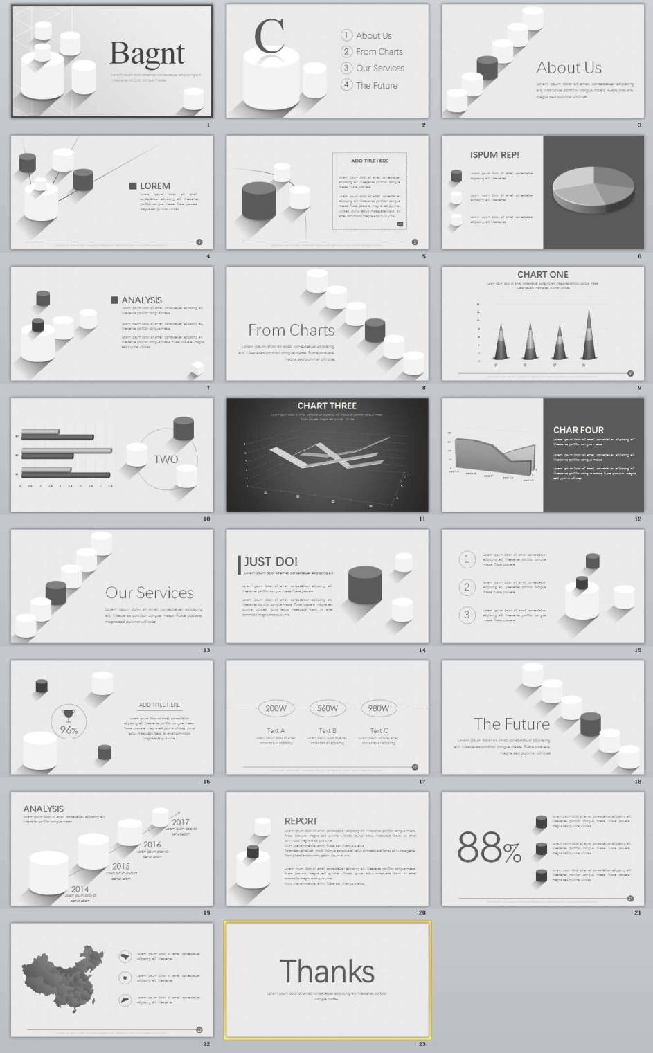 Professional Powerpoint Templates  The Highest Quality