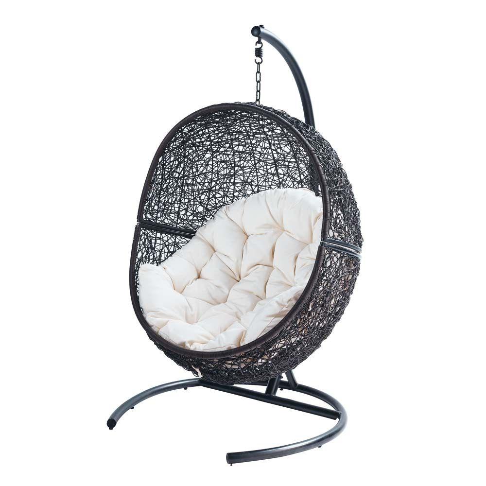 sill n de jard n de resina cocon terrace. Black Bedroom Furniture Sets. Home Design Ideas