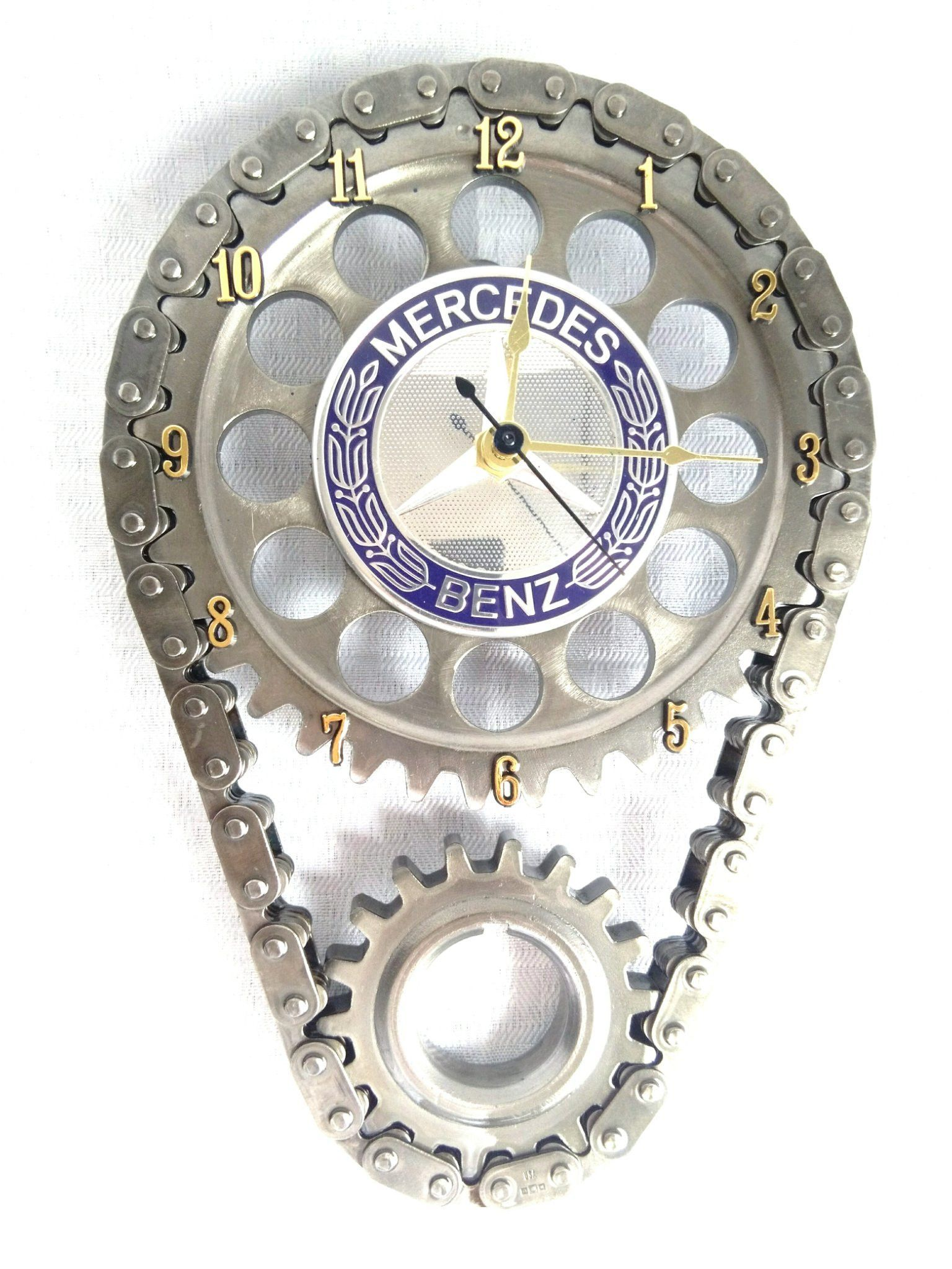 Mercedes benz engine timing gear and chain wall clock mercedes mercedes benz engine timing gear and chain wall clock amipublicfo Choice Image