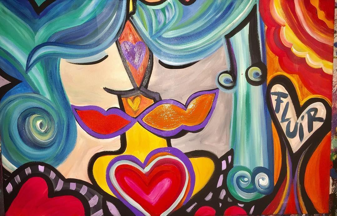 Fluir ESTA ES LA CONSIGNA: FLUIR HOY Y SIEMPRE #happyartbypato #patogilvillalobos #art #artistarioplatense #puntadeleste2017 #joseignacio #amorencolores #amor #amor #rituales