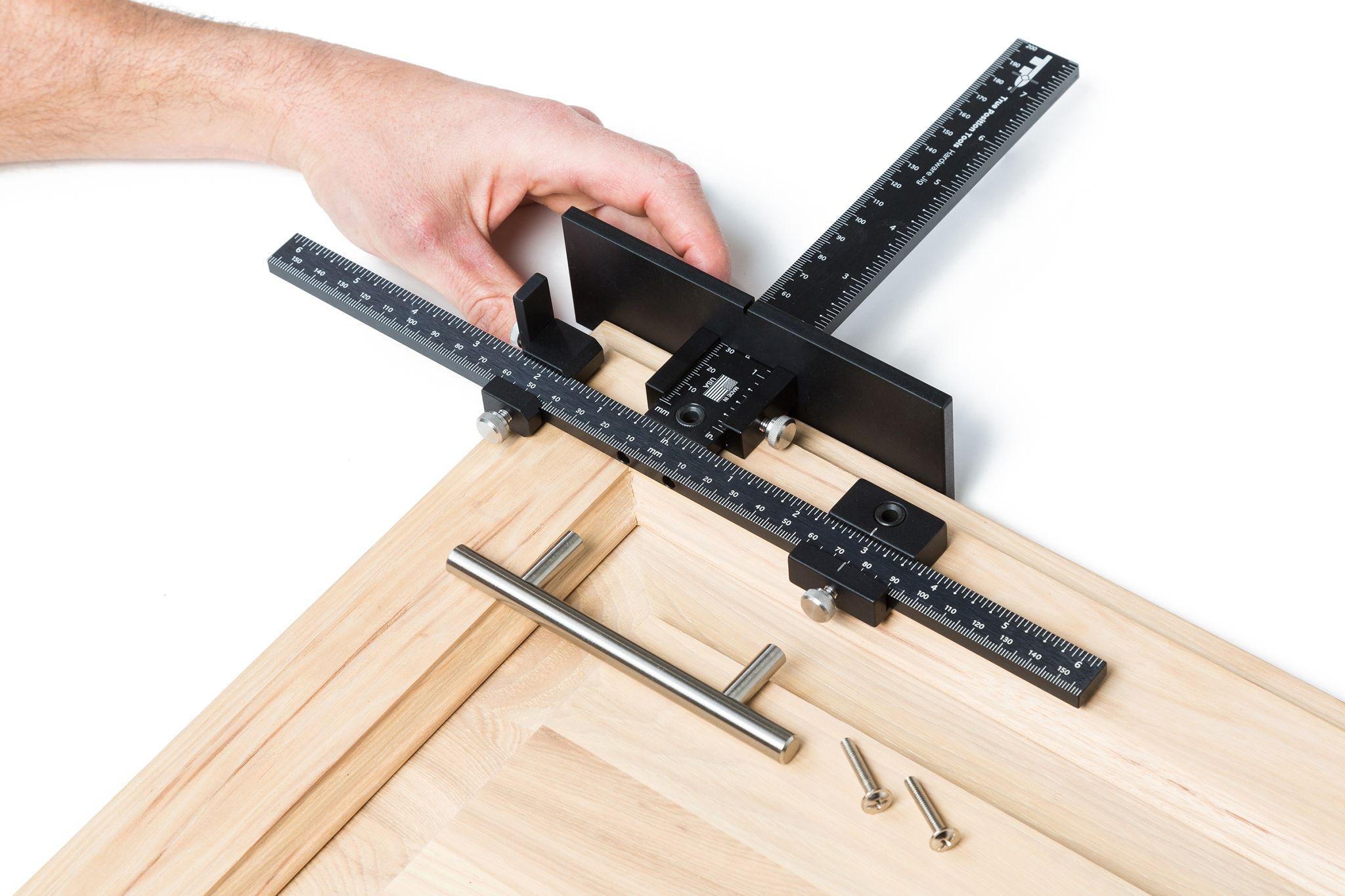 Cabinet Handle Installation Cabinet Door Jig True Position Tools