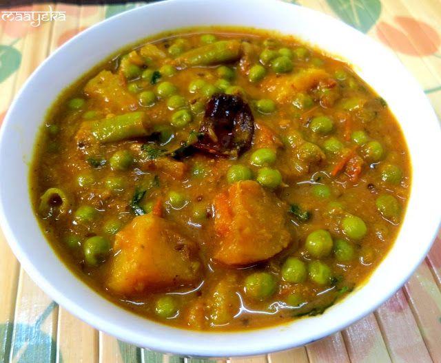 Maayeka aloo matar ki subzi potato and green pea curry vegan maayeka authentic indian vegetarian recipes aloo matar ki subzi potato and green pea curry forumfinder Images