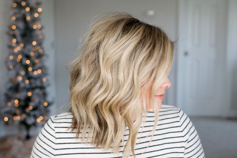 My Easy Everyday Waves Waves Hair Tutorial Loose Waves Hair Loose Waves Short Hair